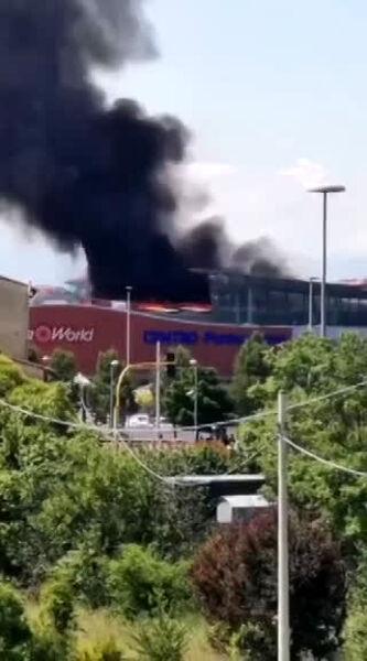 Incendio Coop di Ponte a Greve